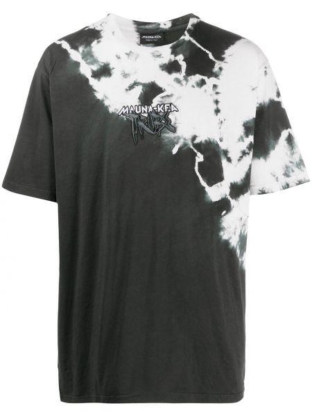 Koszula krótkie z krótkim rękawem z logo prosto Mauna Kea