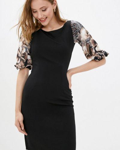 Платье футляр - черное Vergans