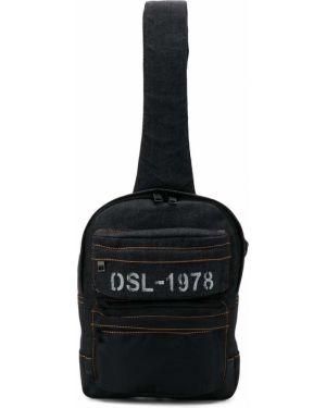 Синий рюкзак Diesel