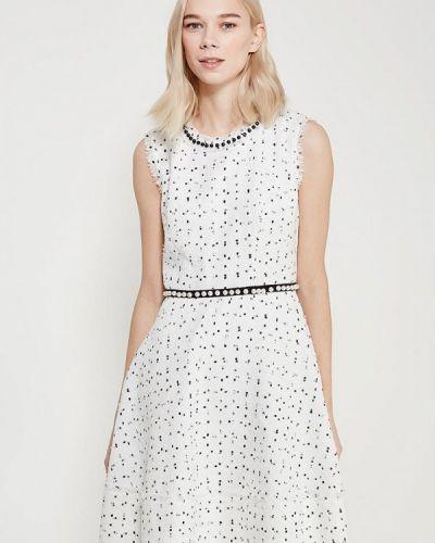 Белое платье весеннее Lusio