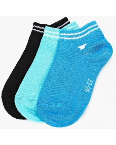 Носки черные синие Tom Tailor