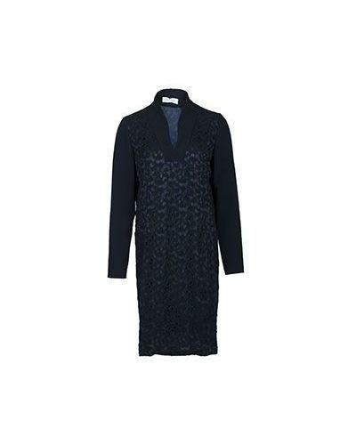 Черное зимнее платье Costume National