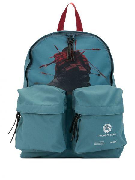Niebieski plecak z printem Undercover