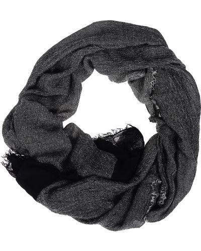 Черный шарф Trussardi Jeans