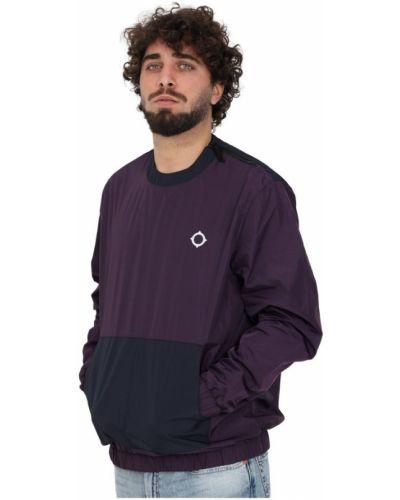Fioletowa bluza dresowa Ma.strum