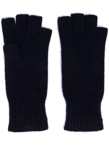 Rękawiczki bez palców - niebieskie Khaite