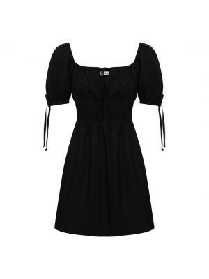 Хлопковое платье - черное Faithfull The Brand