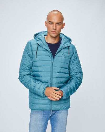Утепленная куртка с капюшоном стеганая Quiksilver