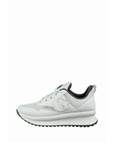 Текстильные кроссовки - белые Grunberg