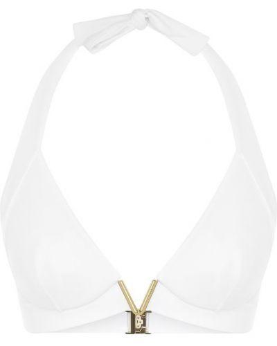 Купальник с треугольными чашечками в полоску с поясом La Perla