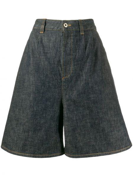Короткие шорты с карманами на пуговицах Loewe