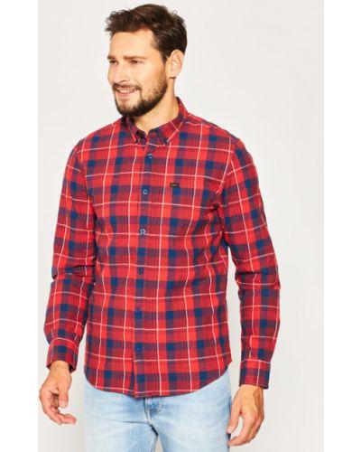 Koszula - czerwona Lee