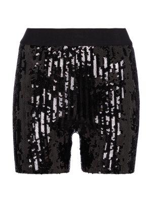 Нейлоновые черные шорты байкерские Junya Watanabe