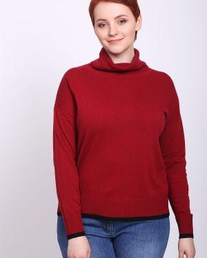 Пуловер кашемировый красный Pezzo