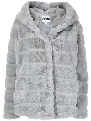Długi płaszcz z kapturem Apparis