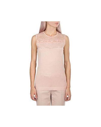 Топ кружевной розовый Roberto Cavalli