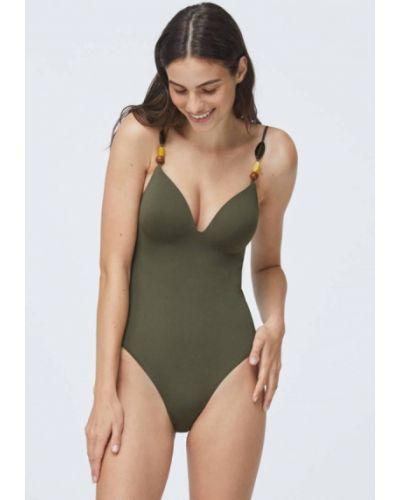 Слитный купальник - зеленый Oysho