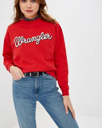 Свитшот красный Wrangler