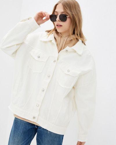 Джинсовая куртка - белая Krismarin