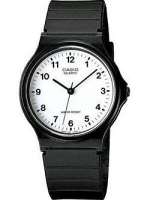 Часы водонепроницаемые белые кварцевые Casio