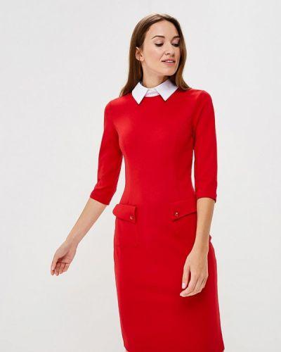 Платье осеннее красный Vittoria Vicci