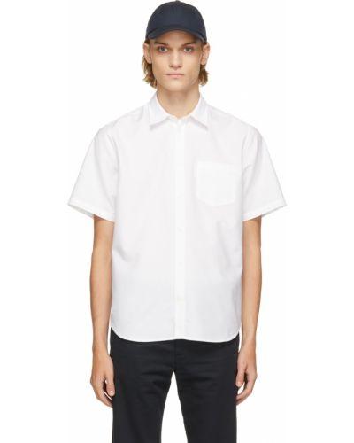 Biała koszula krótki rękaw - biała Norse Projects