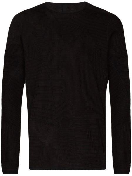 Czarny t-shirt bawełniany Byborre