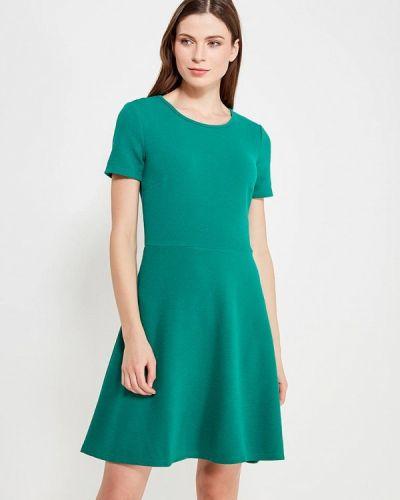 Платье осеннее зеленый Incity
