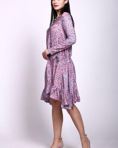 Платье на пуговицах из вискозы Pezzo
