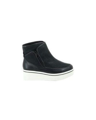 Кожаные ботинки замшевые Stella Mccartney