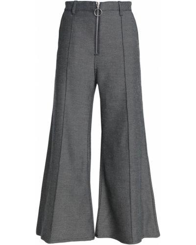 Spodnie bawełniane - szare Marques Almeida