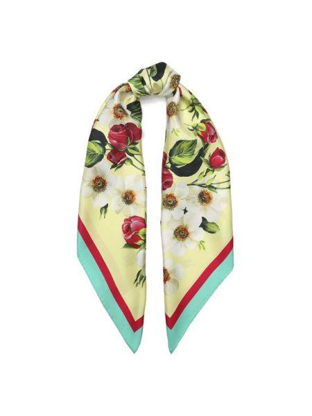 Платок шелковый из шелка Dolce & Gabbana