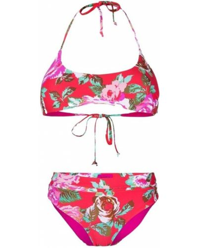Czerwony bikini Fisico