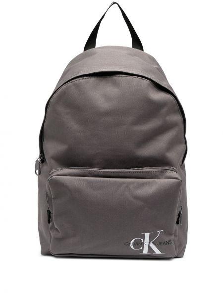 Рюкзак с карманами - серый Calvin Klein