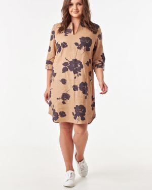 Летнее платье с цветочным принтом платье-сарафан Victoria Filippova