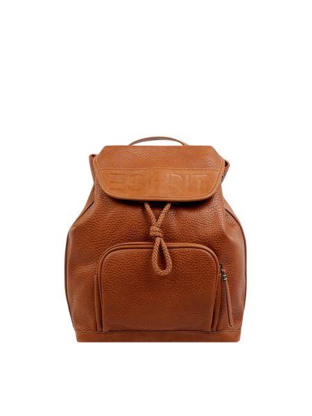 Z paskiem plecak z paskami na paskach z zamkiem błyskawicznym Esprit