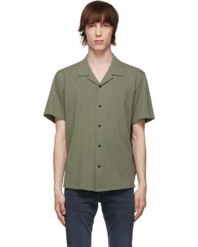 Koszula krótki rękaw - czarna Rag & Bone