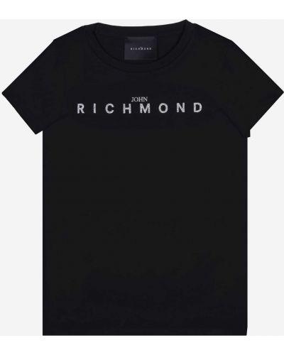 Футболка - черная John Richmond