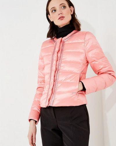 Розовые укороченные джинсы Liu Jo Jeans