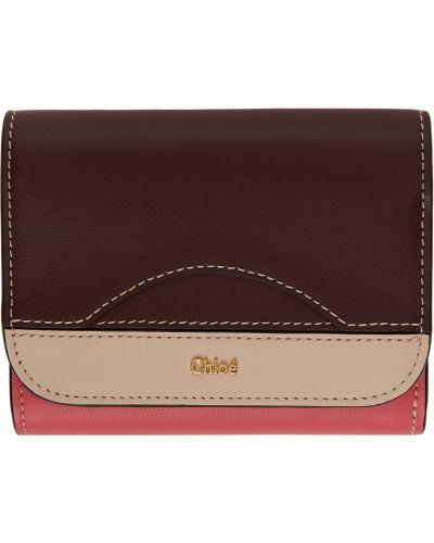 Złoty portfel - czarny Chloe