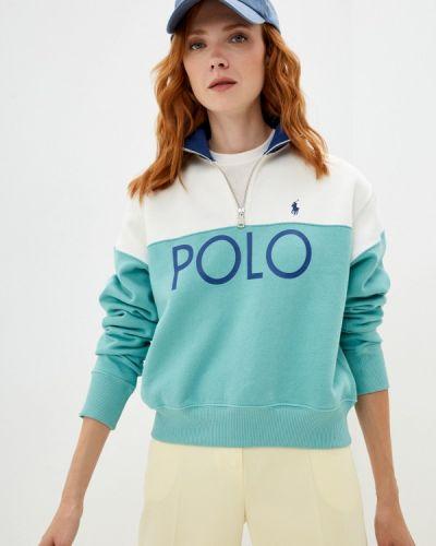 Бирюзовая олимпийка Polo Ralph Lauren