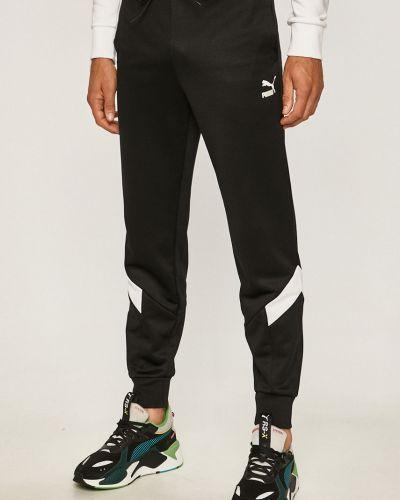 Spodnie na gumce długo z kieszeniami Puma