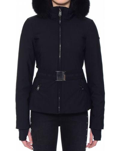 Куртка осенняя черная Goldbergh