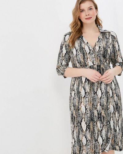 Повседневное платье весеннее серое Dorothy Perkins Curve