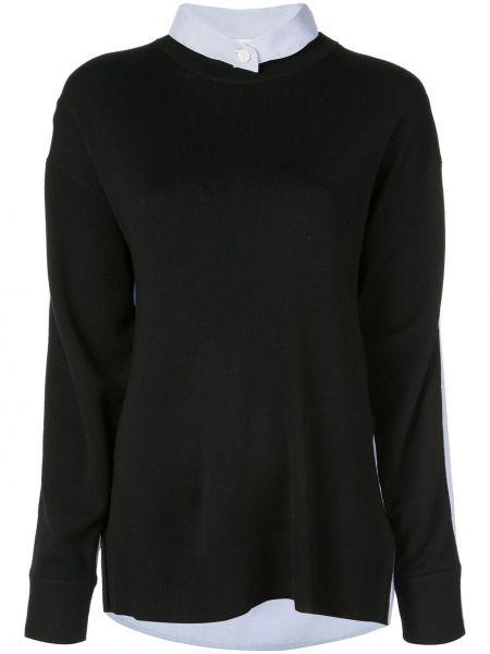 Koszula wełniana - czarna Tibi