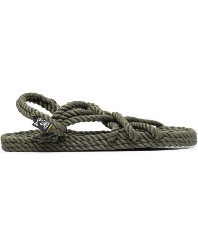 Плетеные сандалии - зеленые Nomadic State Of Mind®