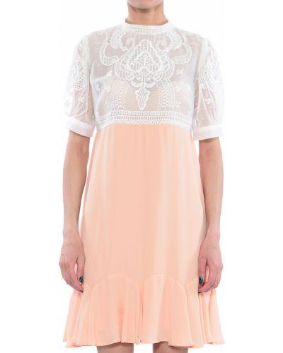 Платье весеннее бежевое Silvian Heach