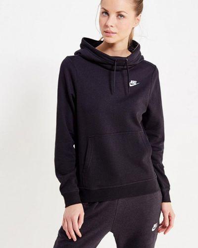 Черная толстовка Nike