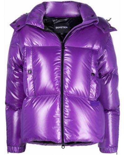 Стеганая куртка - фиолетовая Duvetica