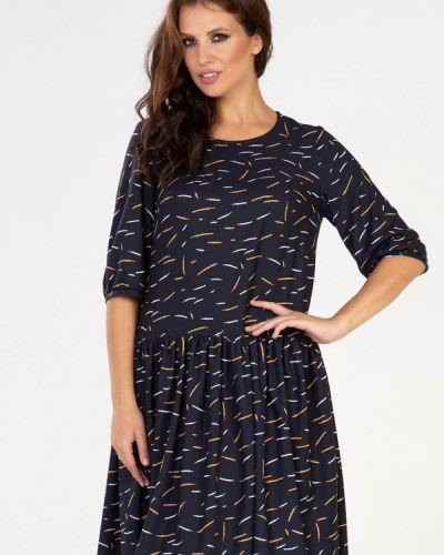 Повседневное синее платье Prima Linea